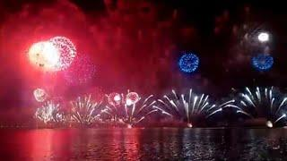Amazing fireworks at corniche Doha 18 December 2018 -Qatar National Day 2018 celebration