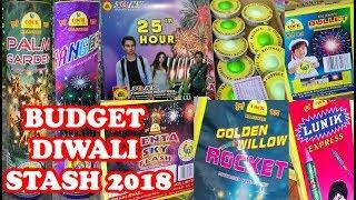 Budget Diwali Fireworks Stash 2018 of Rs.3000
