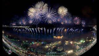 National day fireworks 2020 in Abudhabi corniche #uae#chill out#