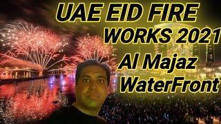 UAE Eid Fireworks 2021   Duabi Eid Fireworks 2021   Sharjah Eid Fireworks 2021