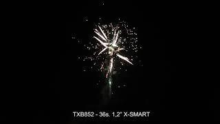 """Fajerwerki TXB852 X SMART 36s  1,2"""" CE cat F3 Triplex"""