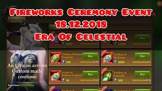 "18.12.2018 Fireworks Ceremony Event "" Era Of Celestials """