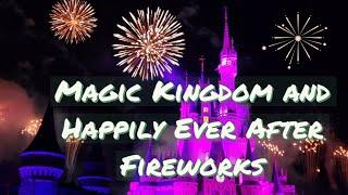 Magic Kingdom/ Happily Ever After Fireworks