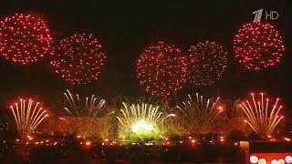 """На фестивале фейерверков """"Ростех"""" соревнуются пиротехники со всего мира."""
